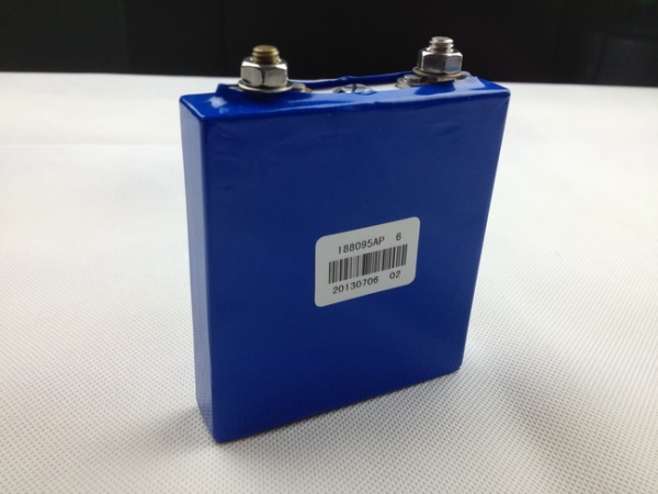 3.2V LiFePO4 6.0Ah Prismatic Cell with Aluminum Housing
