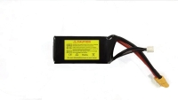 11.1v 1300mAh/1500mAh 3s1p 80C Graphene LiPO Battery Pack for FPV Racer