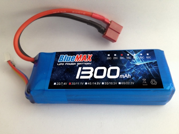 1000-1300mAh Lipo RC battery for helicopters