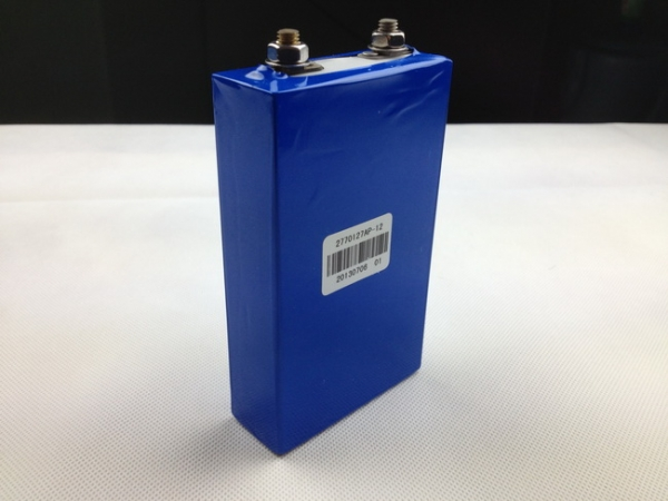 3.2V LiFePO4 12Ah Prismatic Cell with Aluminum Housing
